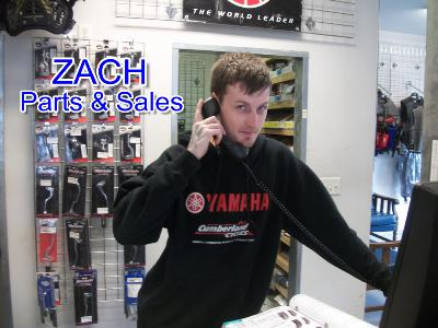 Image of Zach, Parts and Service Associate